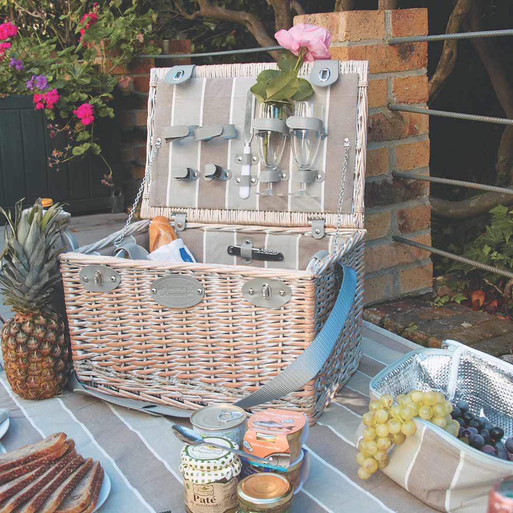 picknick korb polo club f r 4 personen. Black Bedroom Furniture Sets. Home Design Ideas
