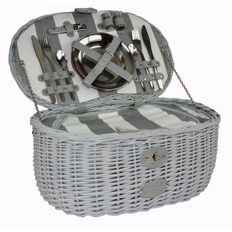 picknickkorb f r 4 personen vend me. Black Bedroom Furniture Sets. Home Design Ideas