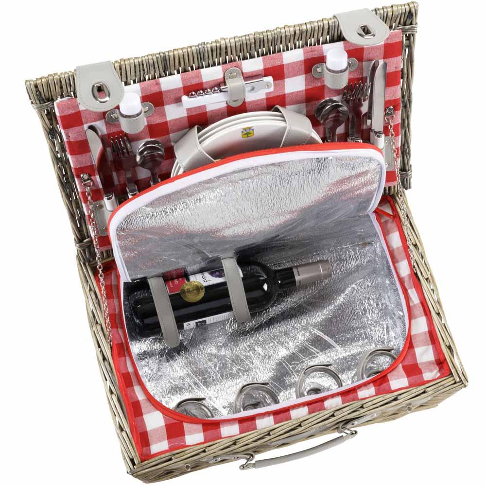 picknickkorb marly f r 4 personen. Black Bedroom Furniture Sets. Home Design Ideas