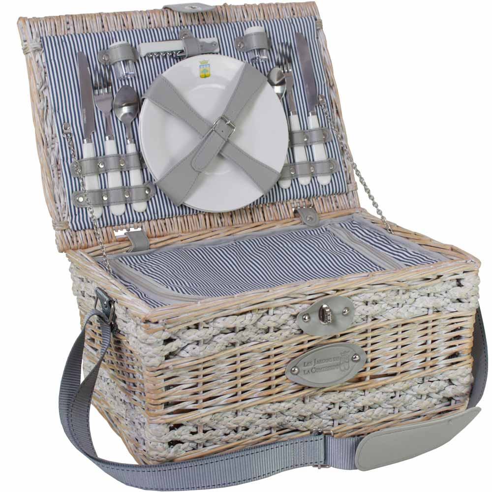 picknickkorb f r 2 personen ideales geschenk. Black Bedroom Furniture Sets. Home Design Ideas