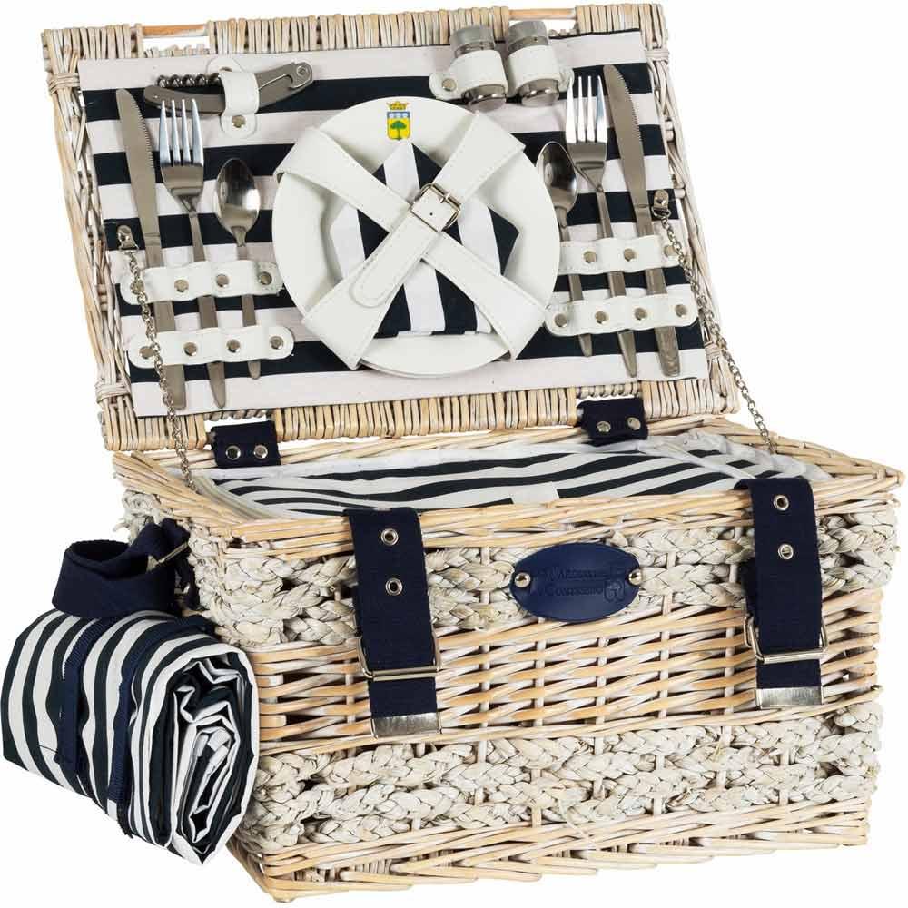 picknick korb paris f r 2 personen. Black Bedroom Furniture Sets. Home Design Ideas