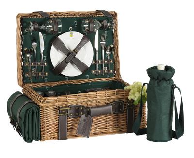 picknikkorb f r 2 personen. Black Bedroom Furniture Sets. Home Design Ideas
